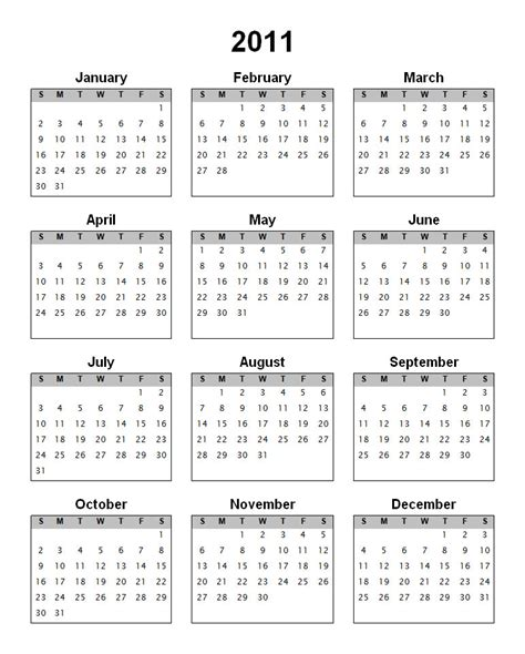 yearly calendar by month calendar template 2016