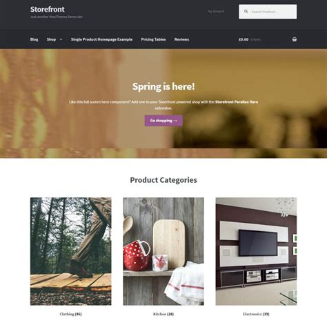 themes storefront 15 best wordpress woocommerce themes and templates 2018
