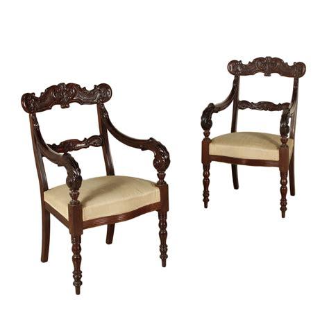 sedia inglese coppia di poltrone inglesi sedie poltrone divani