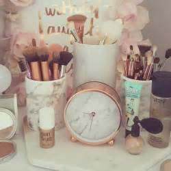 How To Organise Your Vanity Marble And Rose Gold Dresser Click Your Heel S 3 Times