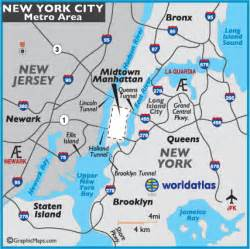 Map Of New York State With Major Cities by New York City Map And Information Page