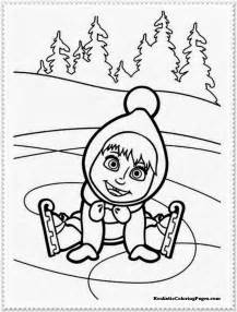 masha bear coloring pages realistic coloring pages