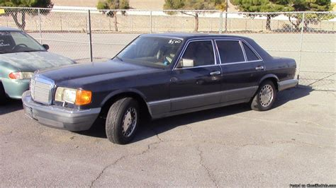 1986 Mercedes 420sel by Mercedes 420sel Cars For Sale
