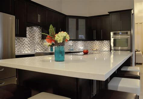 modern kitchen countertops kitchen renovation miramar fl modern kitchen