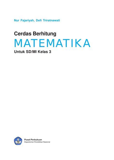 Teril Berhitung Matematika Untuk Kelas Iii 3 Sd sd mi kelas03 cerdas berhitung matematika nur defi