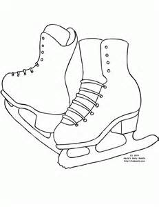 ice skating coloring page molding young minds