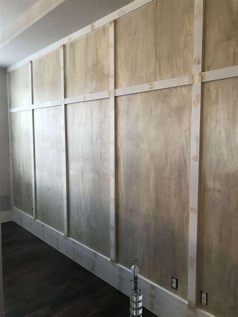 extraordinary covering garage walls  plywood