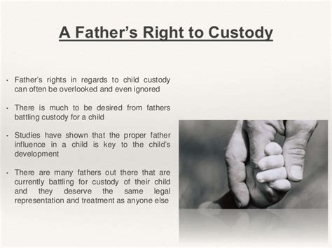 father s custody rights