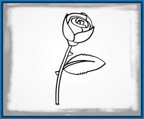 imagenes de una rosa para dibujar faciles como se dibuja una rosa facil archivos dibujos de amor a