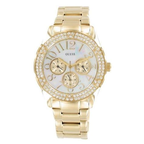 Guess 3chrono Gold guess gold tone bracelet dresses you upwatch shop