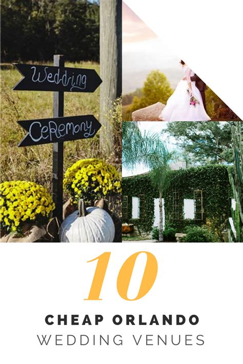 Wedding Venues For Cheap by 10 Cheap Orlando Wedding Venues Cheap Ways To Tie The Knot