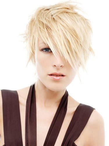 short hairstyles edgy bangs womens edgy short hairstyle