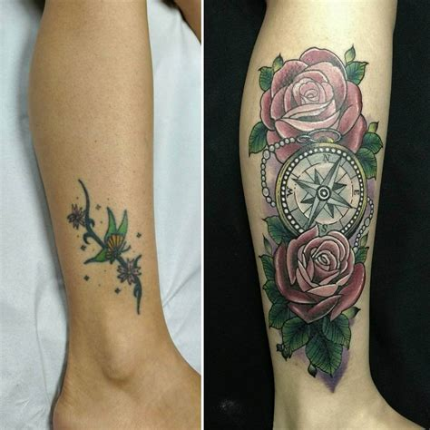 33 Tattoo Cover Ups Designs That Are Way Better Than The