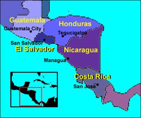 san jose honduras map america trek maps