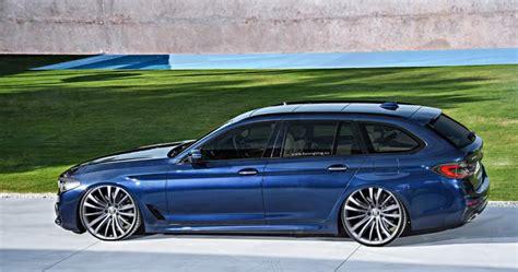 Rendering: Der erste BMW 5er G31 Touring mit Tuning Parts