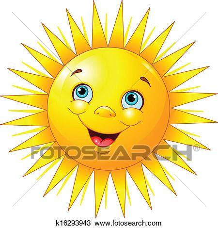 sole clipart clipart soleil souriant k16293943 recherchez des clip