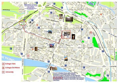 mappa pavia pdf informazioni utili ai partecipanti convegno sesamo 2013