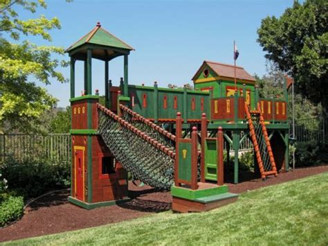 backyard play structures barbara butler play forts gateway fortress