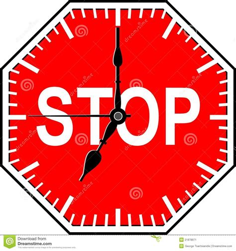 how to stop time stop time stock image image 21878971