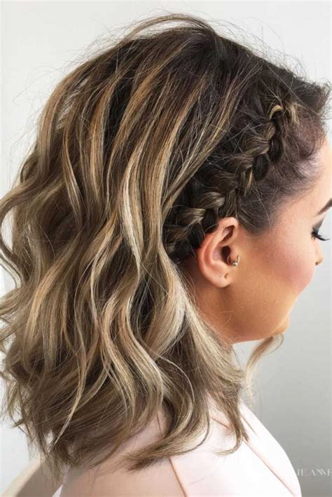cute hair for 30 something 30 cute braided hairstyles for short hair braid