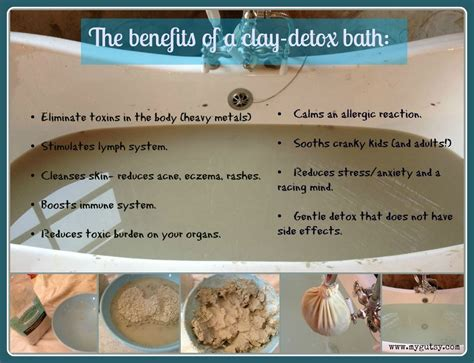 Detox Bath And Pregnancy by How To Detox With A Clay Bath