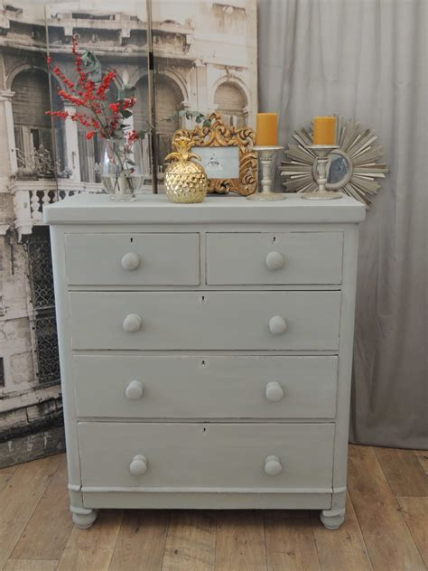 shabby chic victorian chest of drawers tallboy eclectivo