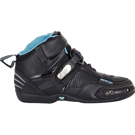 low motocross boots spada compact leather motorcycle boots low cut race sole