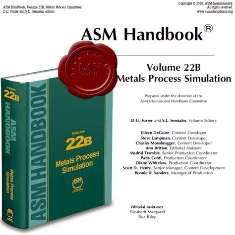 pdf epub asm handbook volume asm metals handbook volume 5 free programs utilities