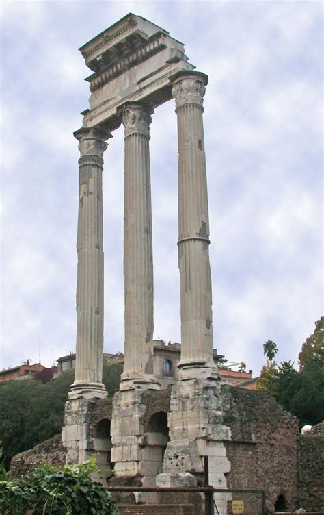 temple of temple of castor and pollux