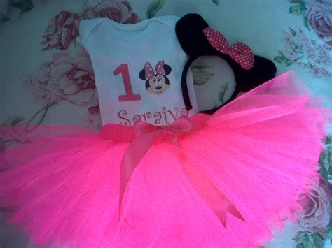 Set Tutu Mickey 3 9bulan minnie mouse tutu set baba s world