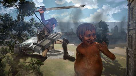 attack on titan 24 187 attack on titan zahlreiche screenshots und erste