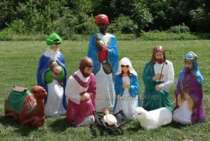 Light Up Nativity Sets For Outdoors Size Outdoor Nativity