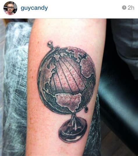 pinterest tattoo globe traditional world globe tattoo 3d tattoos pinterest