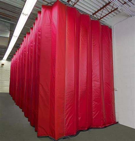 industrial insulated curtains industrial curtains divider walls enclosures partitions