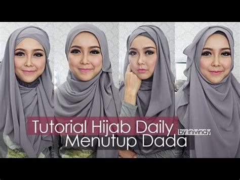 tutorial jilbab wisuda menutupi dada tutorial hijab wisuda menutup dada kumpulan model hijab