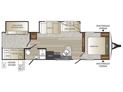 keystone outback floor plans new 2016 keystone outback 312bh for sale 450198