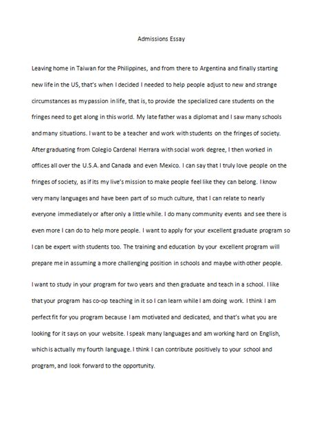 College Application Essay About Depression Admissions Essay Editing Fast And Affordable Scribendi