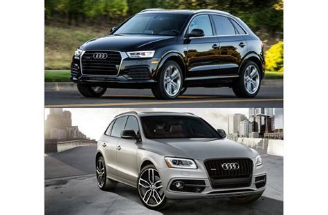 audi q3 and q5 2017 audi q3 vs 2017 audi q5 to u s news