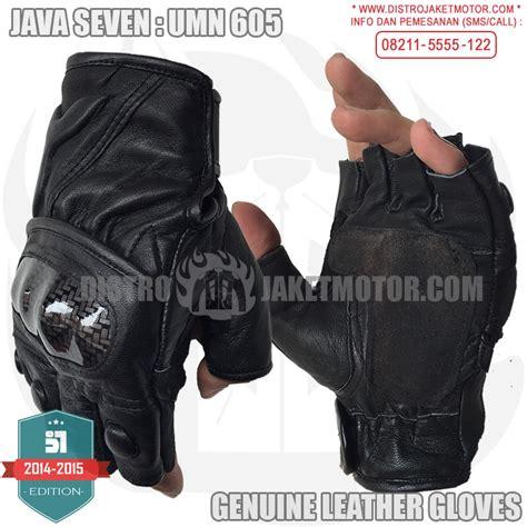 Sarung Tangan Kulit Java Seven sarung tangan kulit java seven distro jaket motor