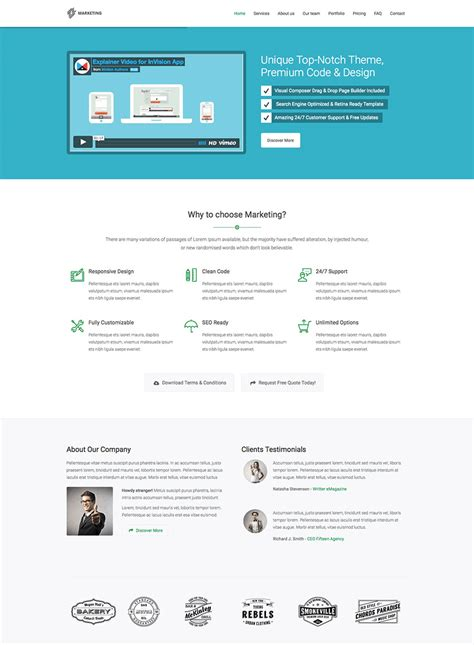 15 best wordpress landing page themes made for conversions
