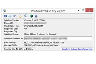 windows product key viewer review v1 07