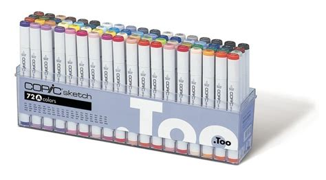 Copic Ciao Set 72 A ems copic sketch markers 72 color set a and storage box