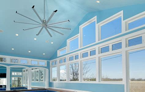 8 foot diameter ceiling fan 3rings a silent warrior for fresh air the isis ceiling