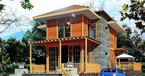 desain rumah kayu ulin  metro properti balikpapan