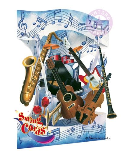Swing Jazz Instruments Musical Instruments Swing Card