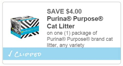 printable coupons for cat food and litter extreme couponing mommy hot deal on purina purpose cat