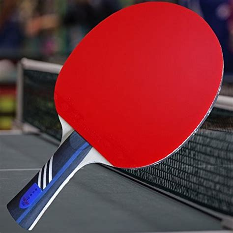 custom professional table tennis paddle with gambler ac