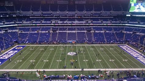lucas oil stadium sections lucas oil stadium section 540 indianapolis colts