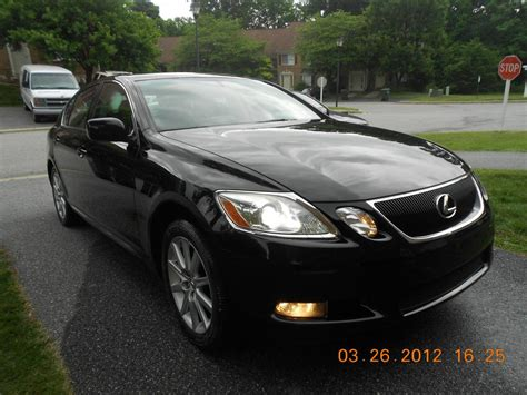 black lexus 2006 md 2006 lexus gs300 black on black clean title carfax
