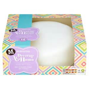 morrisons morrisons decorate at home madeira cake product information